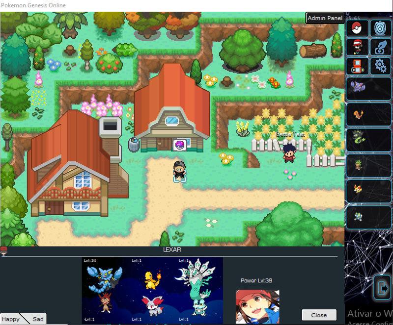 Pokémon Genesis Online! (PGO) Inpcqf11