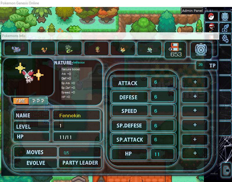 Pokémon Genesis Online! (PGO) Zpqsvr11