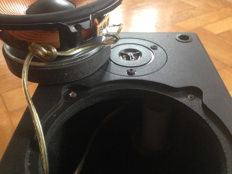 Riparare vecchi diffusori con nuovi Woofer e Tweeter Img_4428