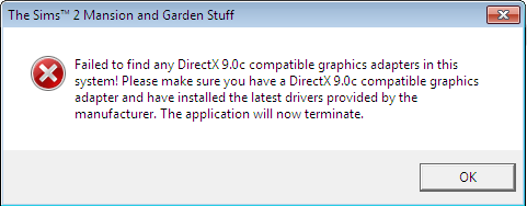 TS2 Directx 9.0c Problems 2.0 Direct11