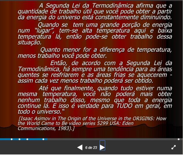 Segunda Lei da Termodinâmica Pg610