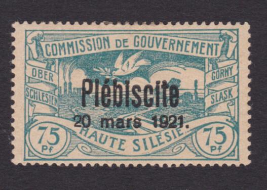 Oberschlesien Michel - Nummer 38 mit Falschaufdruck Foto_114