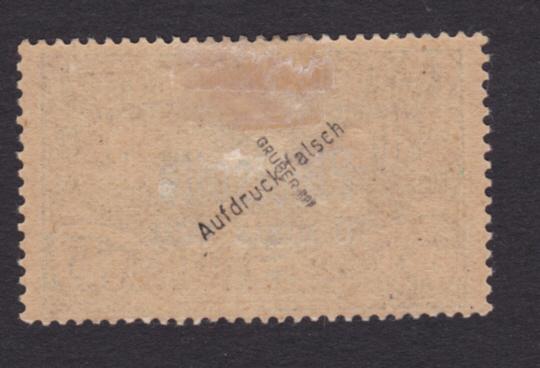 Oberschlesien Michel - Nummer 38 mit Falschaufdruck Foto_214