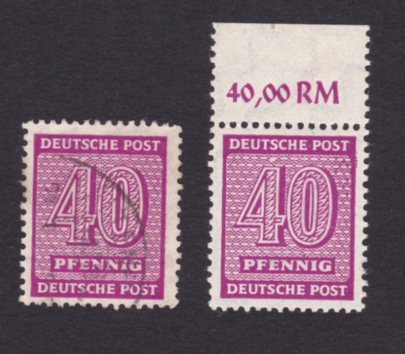 Weisser Fleck auf Michel-Nummer 136 West-Sachsen Img_2012