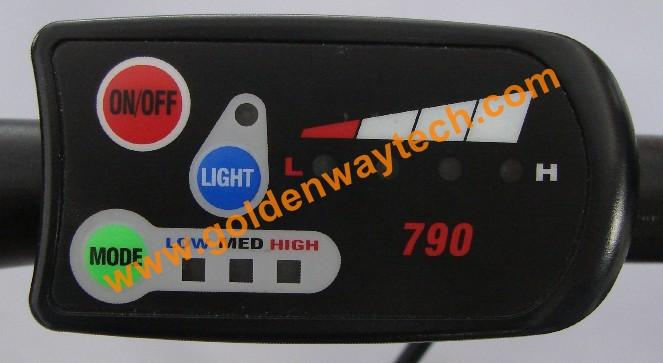 Panel de control 790 para Bafang 48V 750W A1210