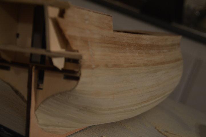 H.M.S Victory 1:98 Mantua Model Dsc_0537