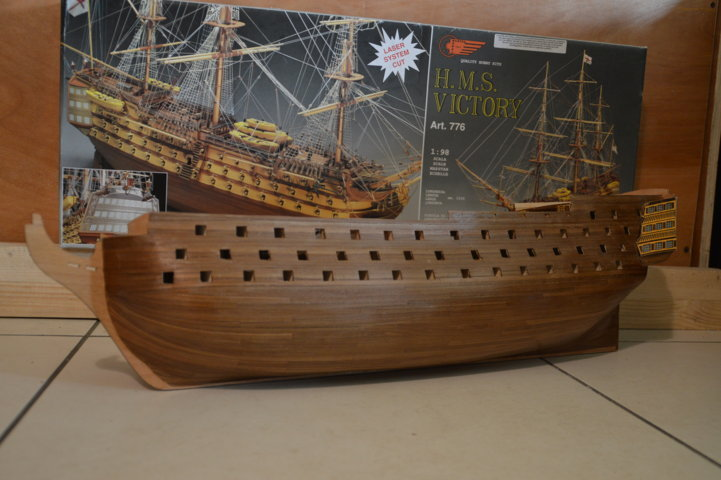 H.M.S Victory 1:98 Mantua Model Maquet27
