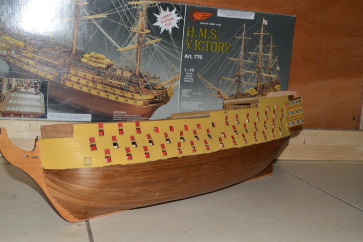 H.M.S Victory 1:98 Mantua Model Maquet35