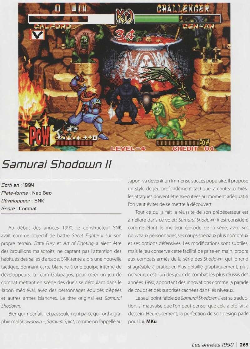 """""""Les 1001 Jeux Vidéo auxquels il faut avoir joué dans sa vie"""" - Articles sur les jeux SNK et Neo-Geo Image_14"""
