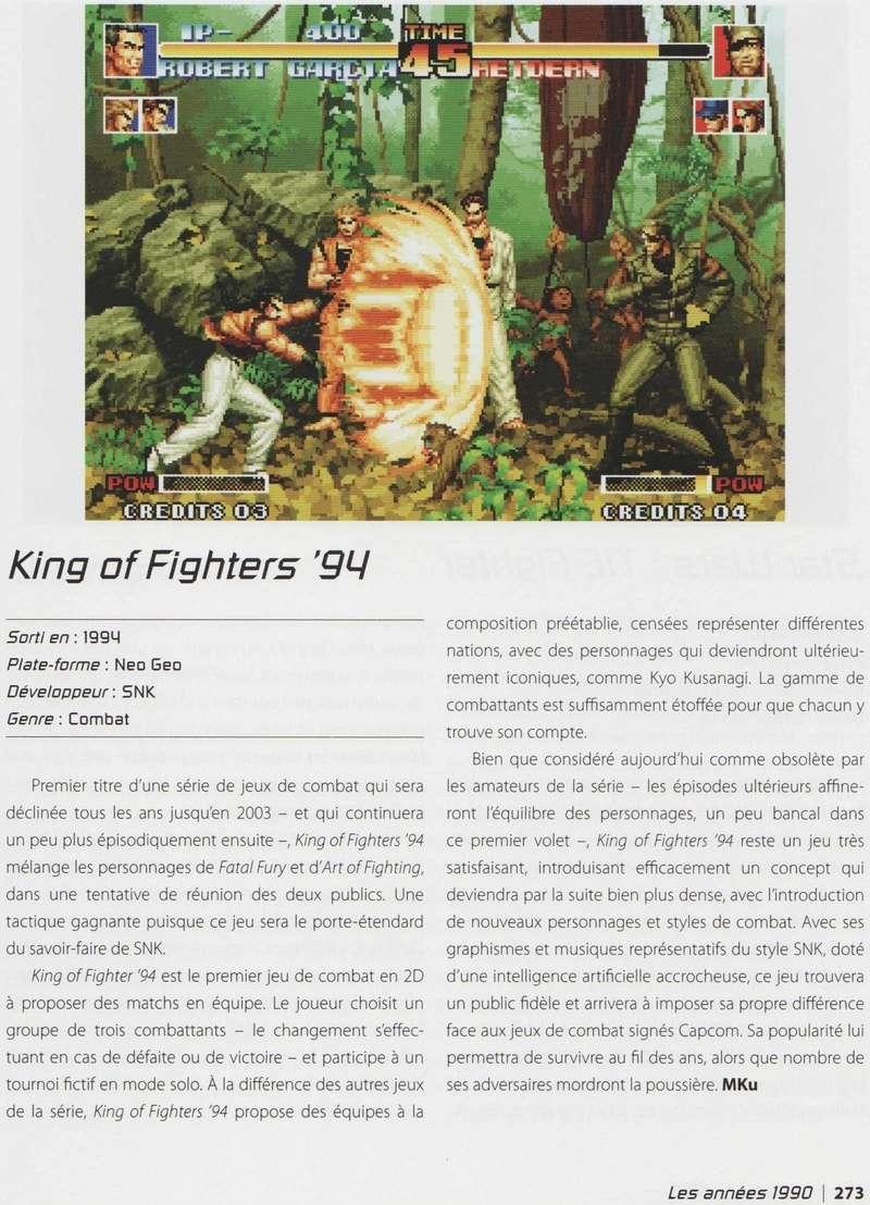 """""""Les 1001 Jeux Vidéo auxquels il faut avoir joué dans sa vie"""" - Articles sur les jeux SNK et Neo-Geo Image_15"""