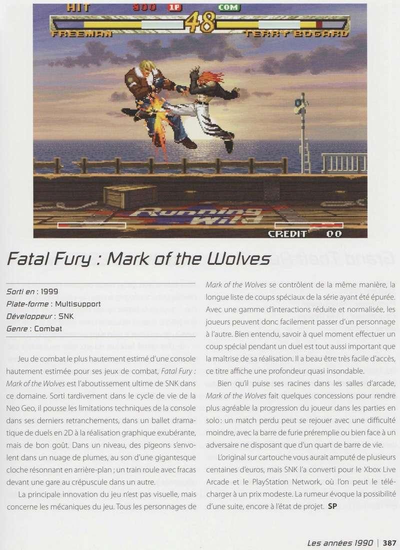 """""""Les 1001 Jeux Vidéo auxquels il faut avoir joué dans sa vie"""" - Articles sur les jeux SNK et Neo-Geo Image_16"""