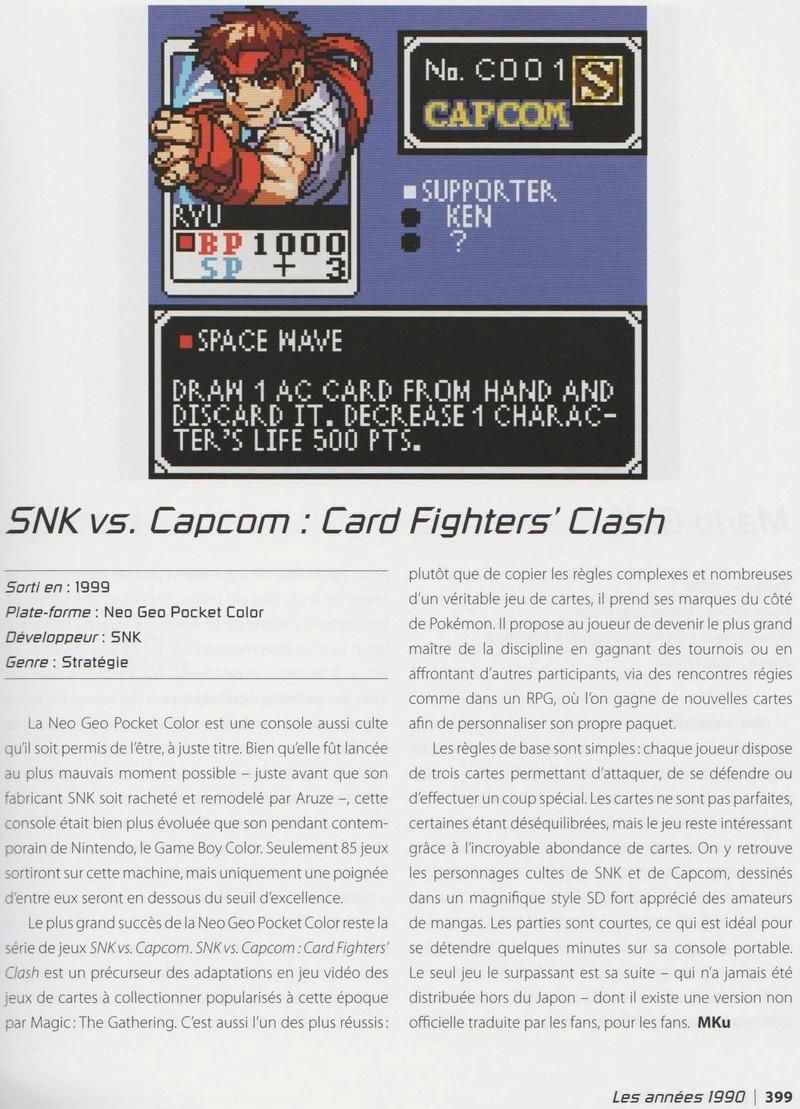 """""""Les 1001 Jeux Vidéo auxquels il faut avoir joué dans sa vie"""" - Articles sur les jeux SNK et Neo-Geo Image_17"""