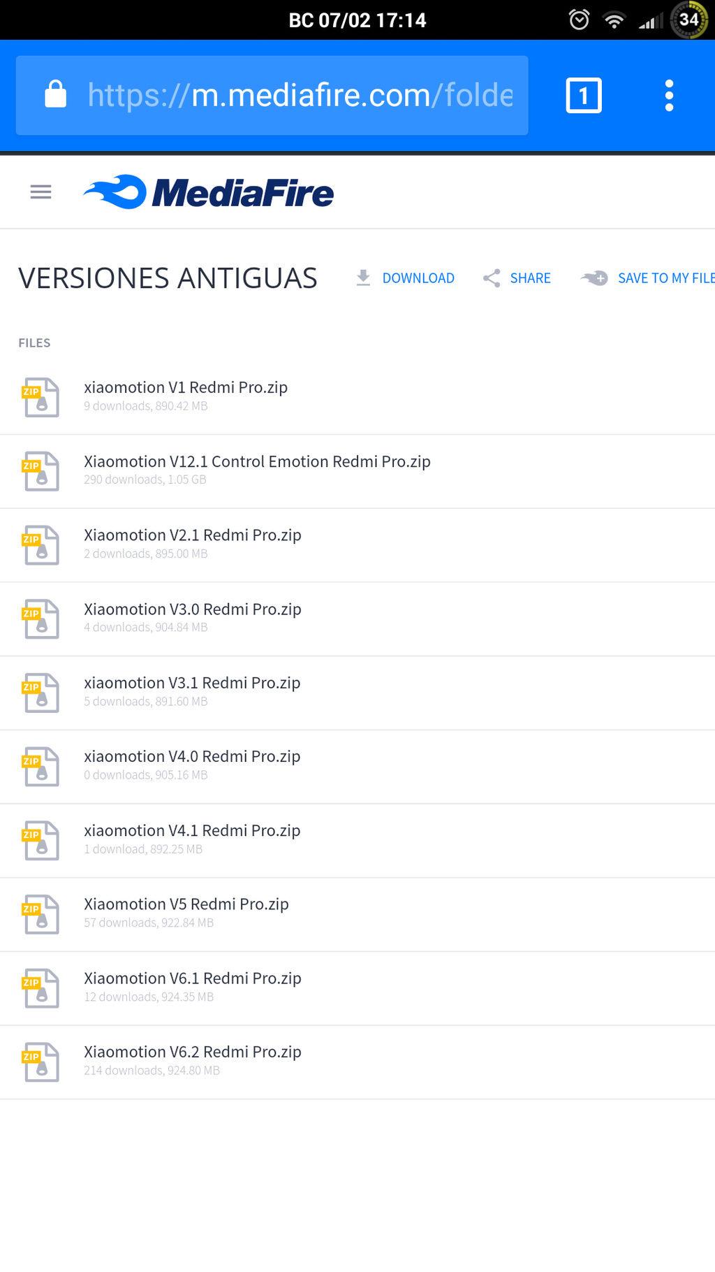 [ROM] |16 de Junio| XIAOMOTION V11 ROM CONTROL Screen10