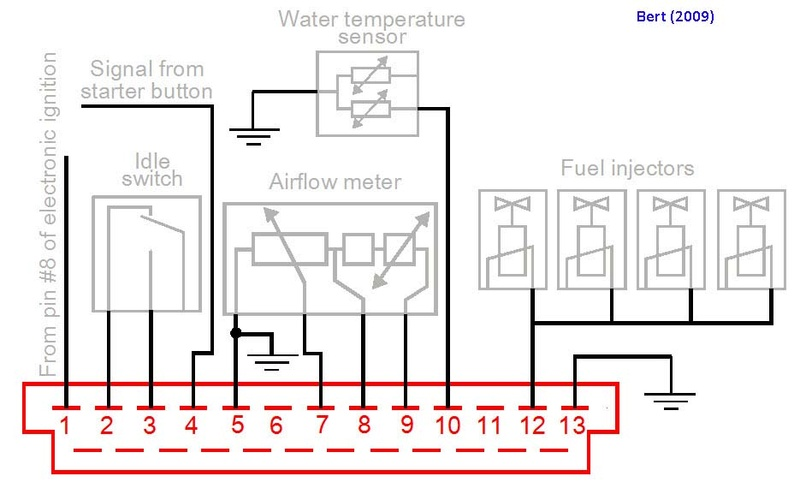 Newly purchased 12/1986 K100RT overheating indication problem Efi-co10