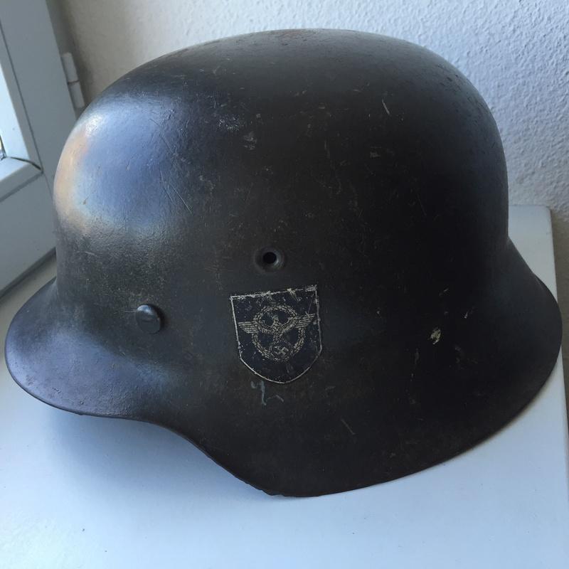 Casque ss polizei régiment 19 Image10