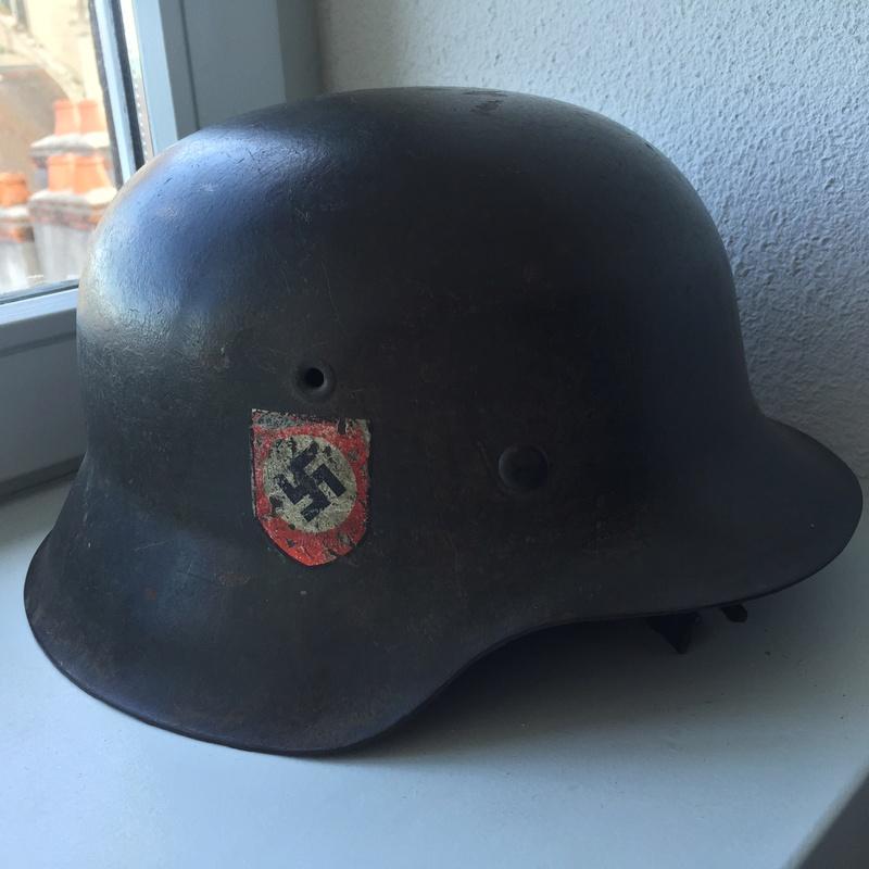 Casque ss polizei régiment 19 Image11