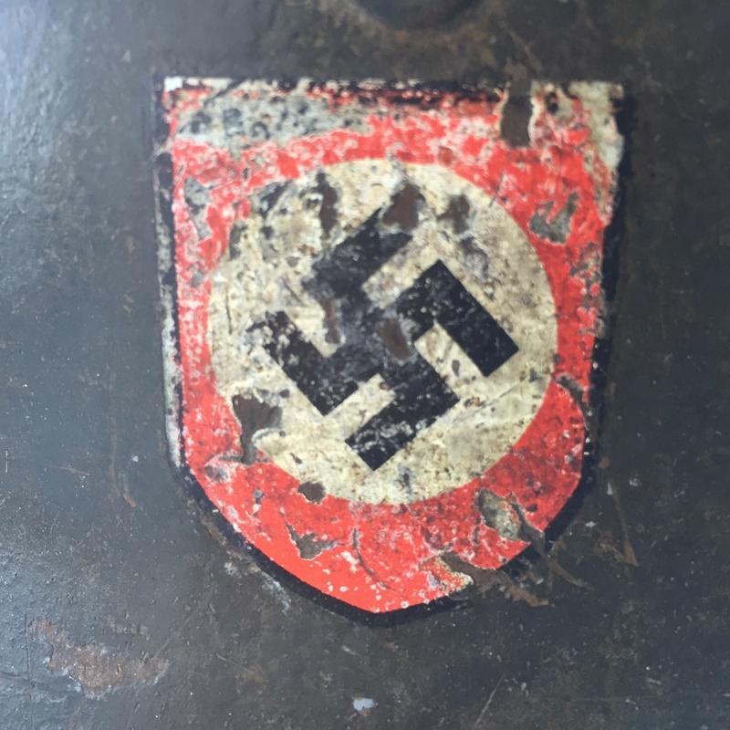 Casque ss polizei régiment 19 Image14