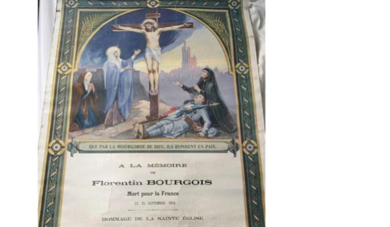 Affiche religieuse mort pour la France Mort10