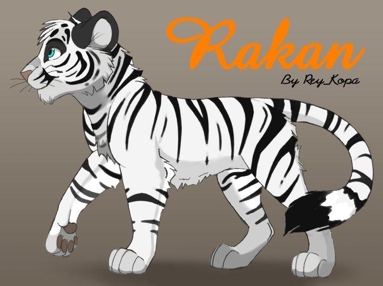 El cachorro blanco Rakan 6-2f3s10