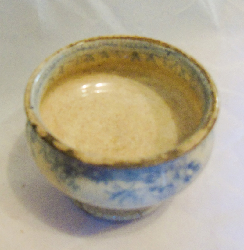 Trying to find any information on this small piece of pottery Dsc00717