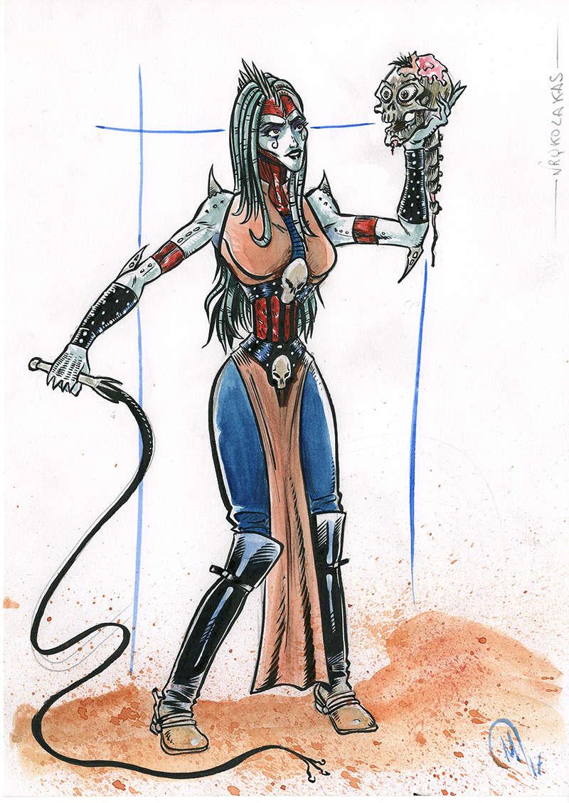 Maddog illustrations, Bd, et le reste... Vrykol10