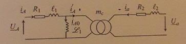 Calculs de pertes électriques dans un transformateur triphasé Transf10