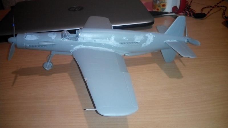 """Обзор Dornier Do.335 """"Pheil"""" A-1/A-12(Revell) Img_2054"""
