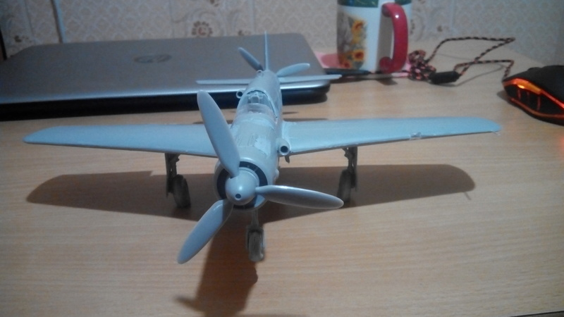 """Обзор Dornier Do.335 """"Pheil"""" A-1/A-12(Revell) Img_2055"""