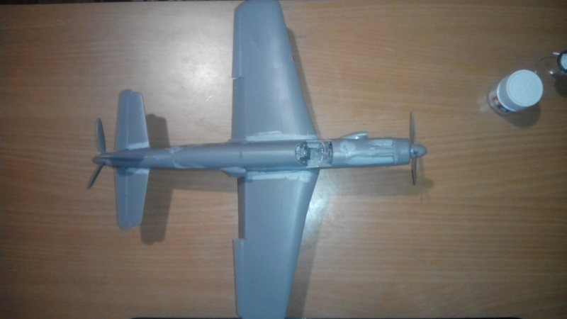 """Обзор Dornier Do.335 """"Pheil"""" A-1/A-12(Revell) Img_2056"""