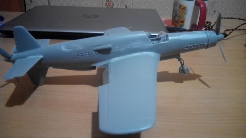 """Обзор Dornier Do.335 """"Pheil"""" A-1/A-12(Revell) Img_2058"""