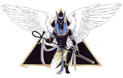 Anubis la llave dorada Egipcia, el Juez Anubis11