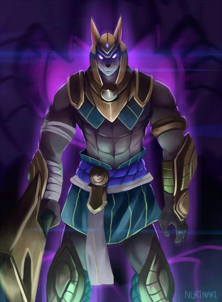 Anubis la llave dorada Egipcia, el Juez Anubis15