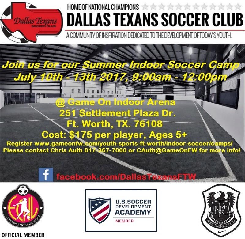 Dallas Texans INDOOR SUMMER Camp July 10th-13th Dtsc_c10