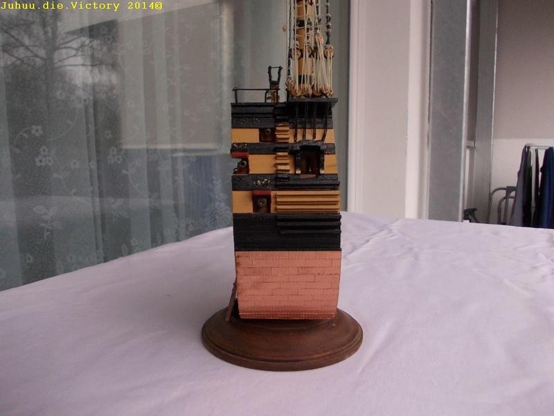 Grossmastschnitt HMS Victory / Corel, 1:100 Dscn2414