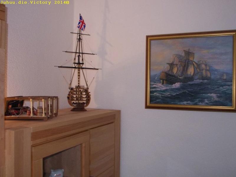Grossmastschnitt HMS Victory / Corel, 1:100 Dscn2415