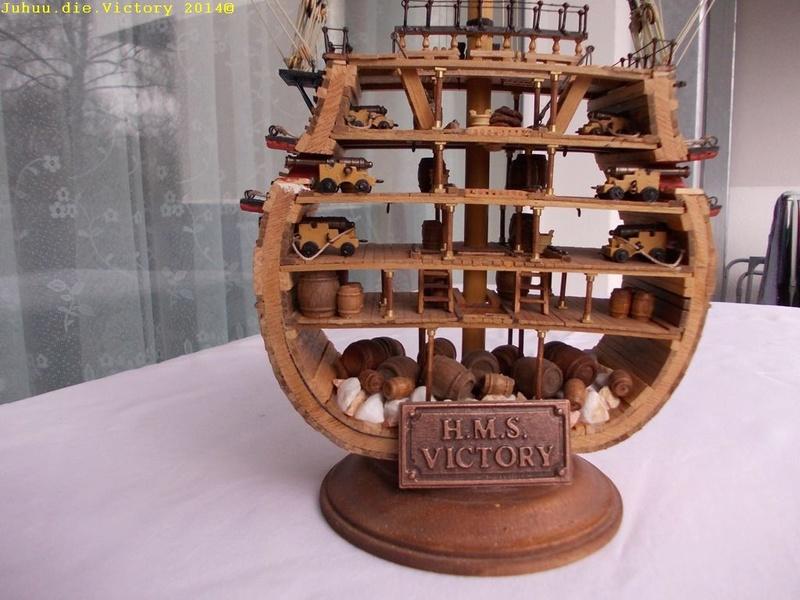 Grossmastschnitt HMS Victory / Corel, 1:100 Dscn2416