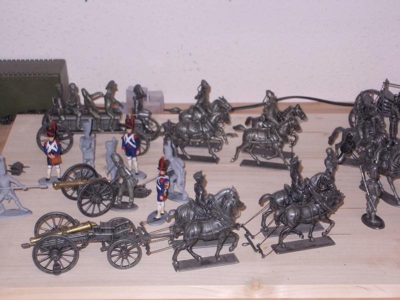 Napoleonische Artillerie am Vortag der Schlacht 1:32 Dscn3510