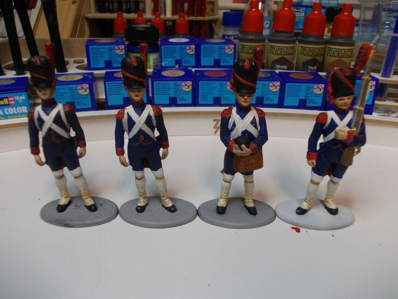 Napoleonische Artillerie am Vortag der Schlacht 1:32 Dscn3513