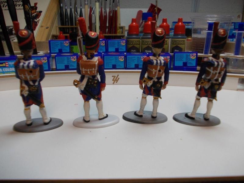 Napoleonische Artillerie am Vortag der Schlacht 1:32 Dscn3514