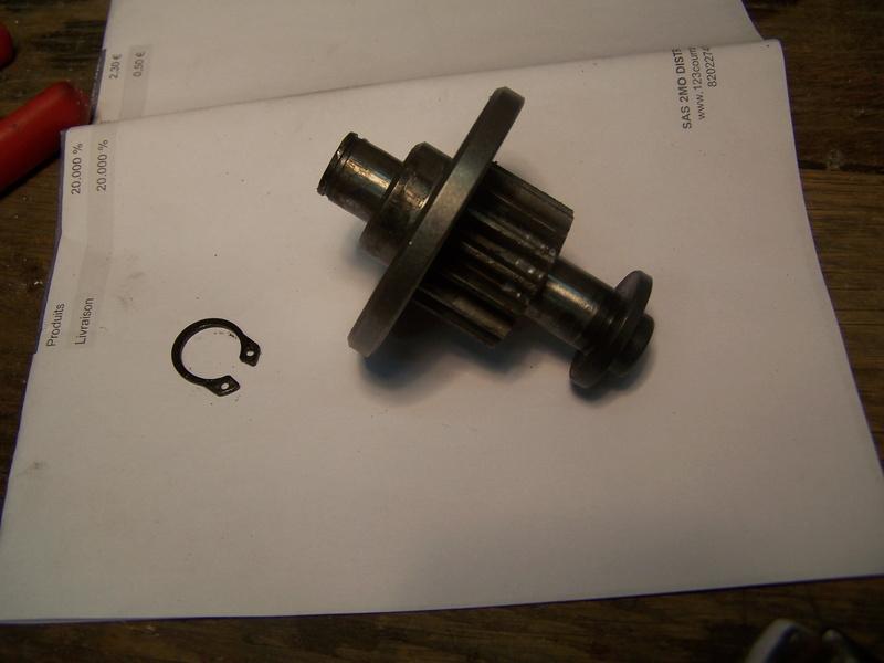 Remplacement  courroie sur rabo-dégau sheppach hms850 102_6440