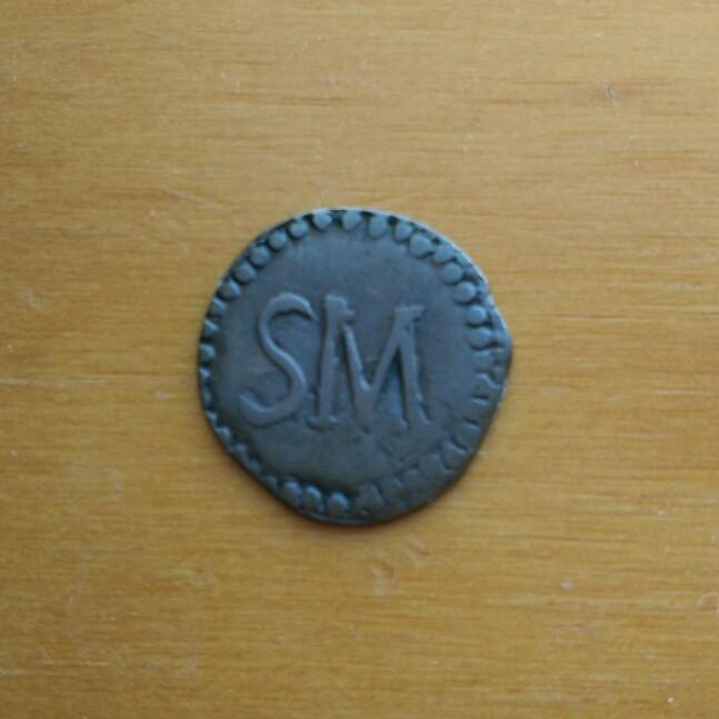1813 1/4 de real Santa Marta Cay14811
