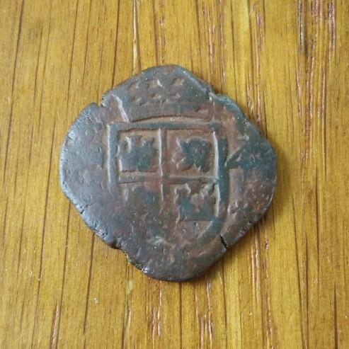 4 maravedís de Carlos II (ceca madrid) acuñada para ORAN 1691 Cay71011