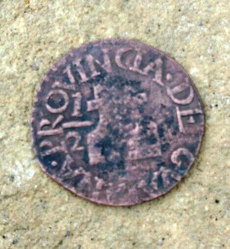 1/2 Real de Guayana Fernando VII 1814 Medio_10