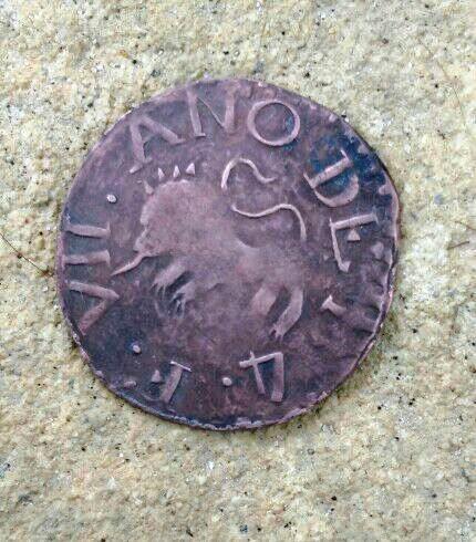 1/2 Real de Guayana Fernando VII 1814 Medio_11