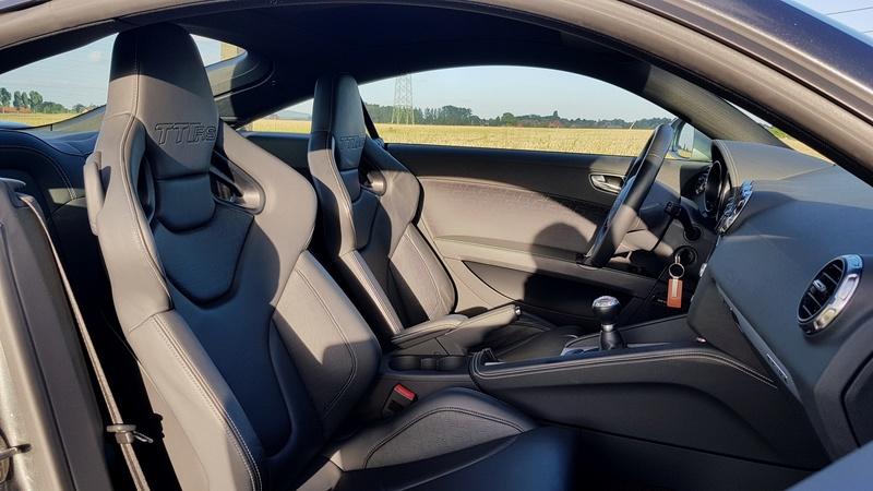 Présentation de ma TT-RS Daytona Grey 510