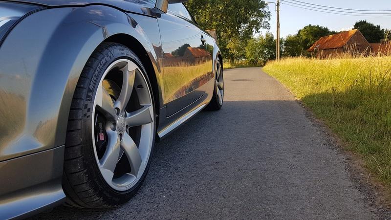 Présentation de ma TT-RS Daytona Grey 810