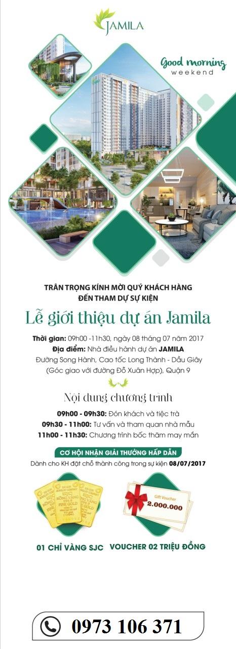 Sự kiện Lễ giới thiệu dự án Jamila - Khang Điền Miniev11