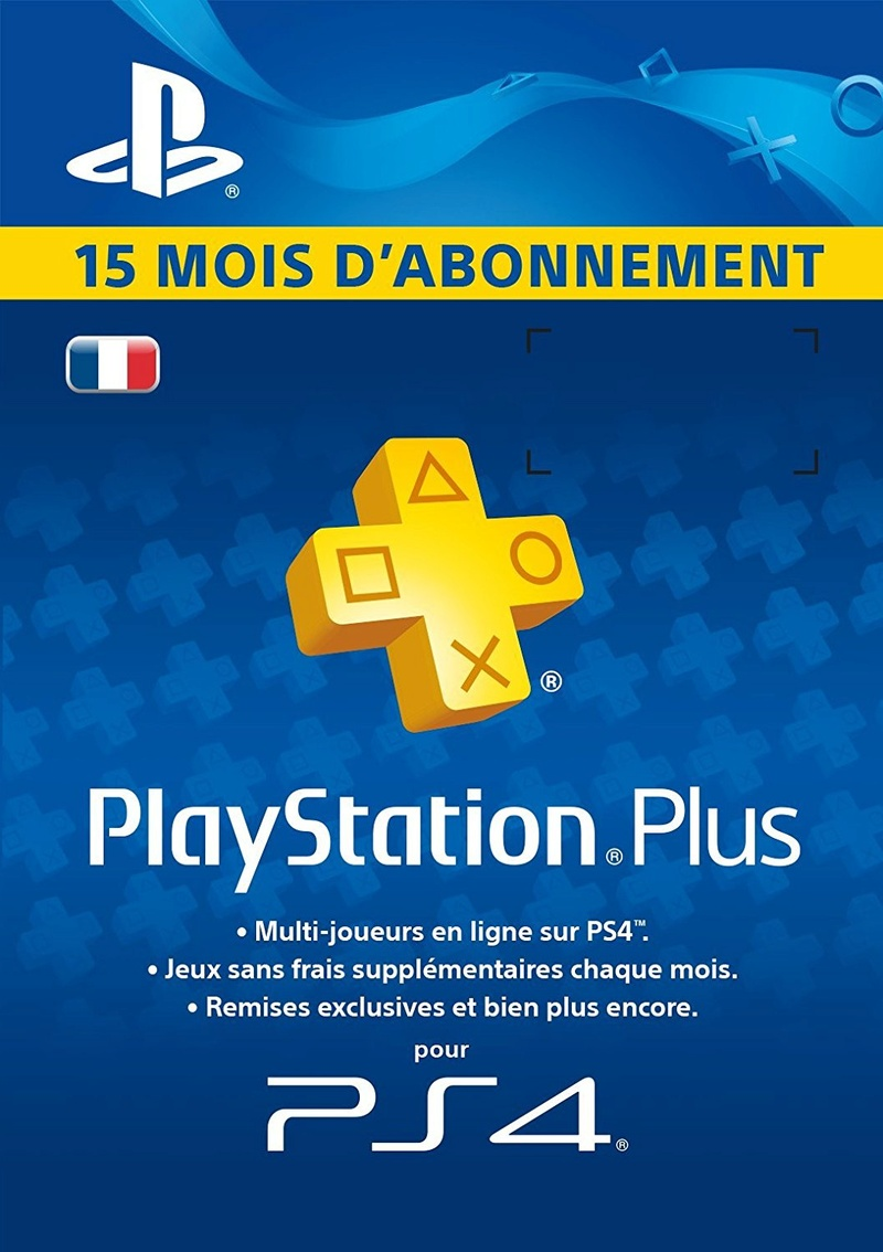 Abonnement  PlayStation Plus @Carrefour 71qegr11