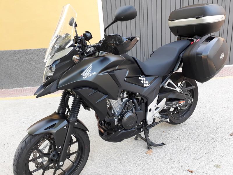 VENDO  Honda CBX Modelo 2016 (de agosto 2016) 5.200€ (VENDIDA)  20170721
