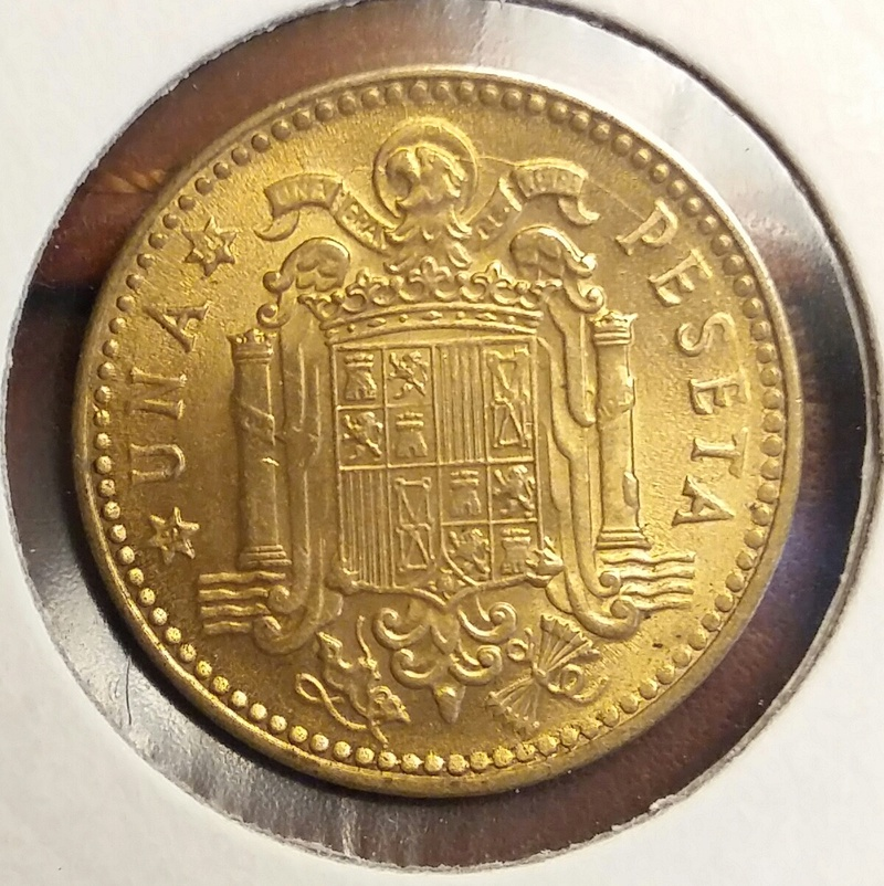 1 Peseta 1953 *54 Estado Español 20170713
